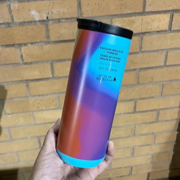 New Starbucks Rainbow 🌈 Swirl Insulated Tumbler